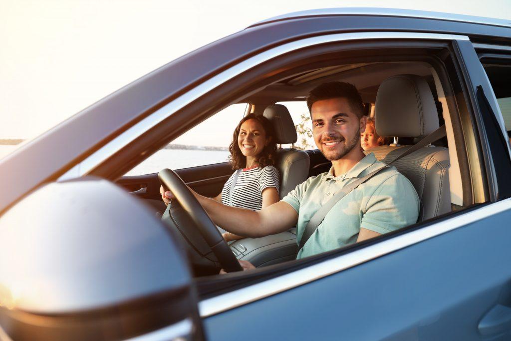 Auto Insurance - Couple in car